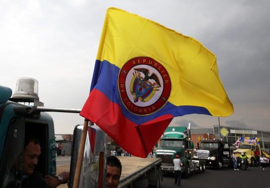 camioneros colombianos