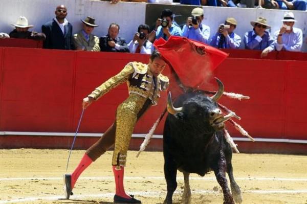 El torero español en la Feria de Quito, en 2011. EFE