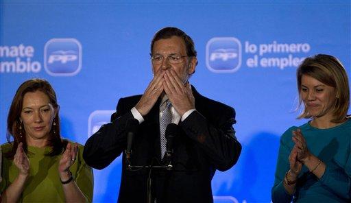 Mariano Rajoy, Elvira Fernandez Balboa, Maria Dolores de Cospedal