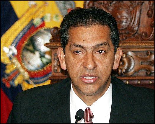 File photo of Ecuadoran President Gutierrez
