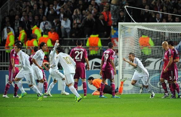 OLYMPIQUE LYON-REAL MADRID