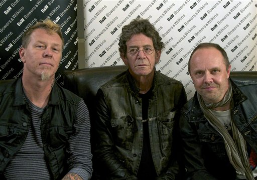 METALLICA-LOU REED