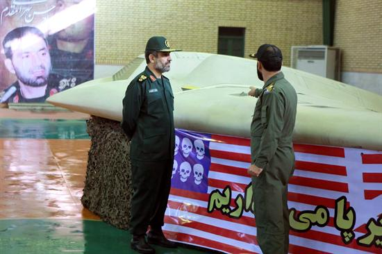 Avion espia IRAN