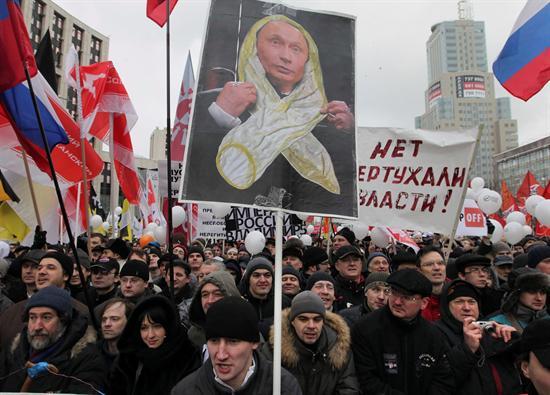 Rusia manifestaciones Putin