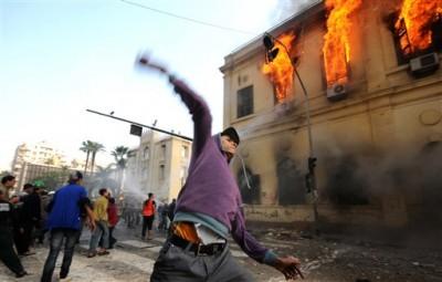 Egipto, y la primavera árabe.