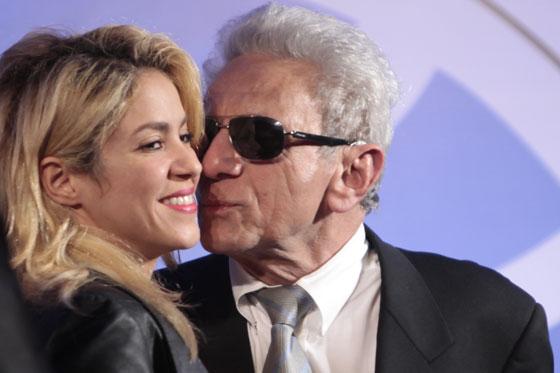 Shakira y papa