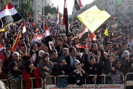 Siria manifestaciones
