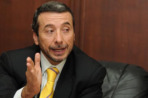 Vinicio Alvarado, ministro coordinador de la Producción. Foto de Archivo, La República.