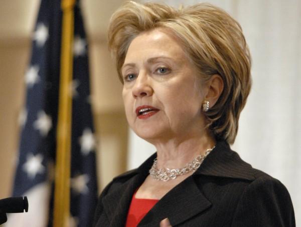La Senadora por JNueva York Hillary Clinton, en una foto de 2008. (AP Photo/Tim Roske)