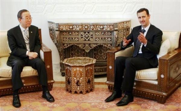 Bashar Al Assad Banki mun