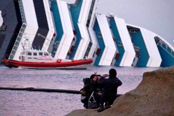 Costa Concordia hundido