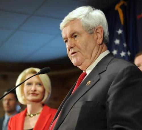 Gingrich y esposa 3
