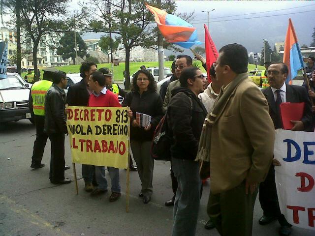 Protestas servidores