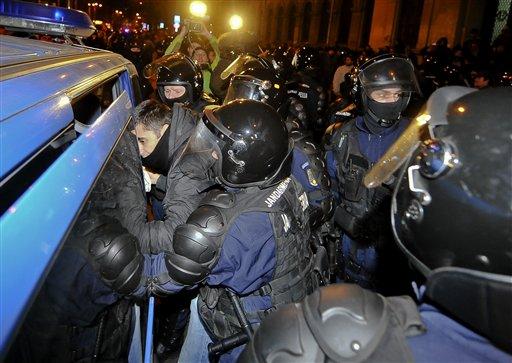 RUMANIA-PROTESTAS