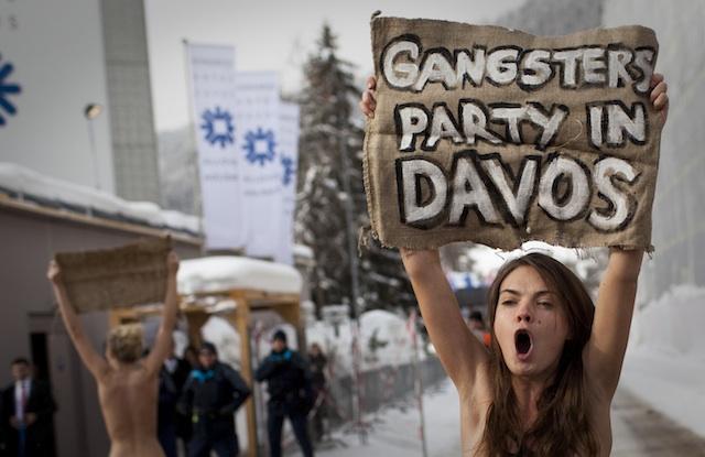 DAVOS-TOPLESS