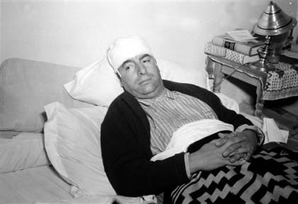 El poeta, poco antes de morir. Foto de Archivo, (AP foto).