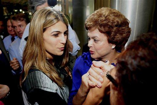 Dilma Rousseff, Manuela dí¡vila