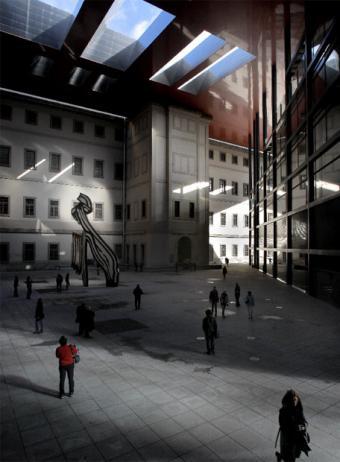 Vista_patio_interior_Reina_Sofia_ampliacion_disenada_Jean_Nouvel