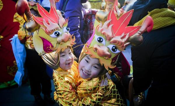 año nuevo del dragón 2012