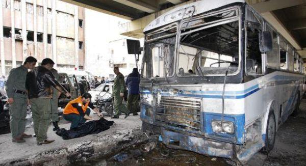 atentado Damasco