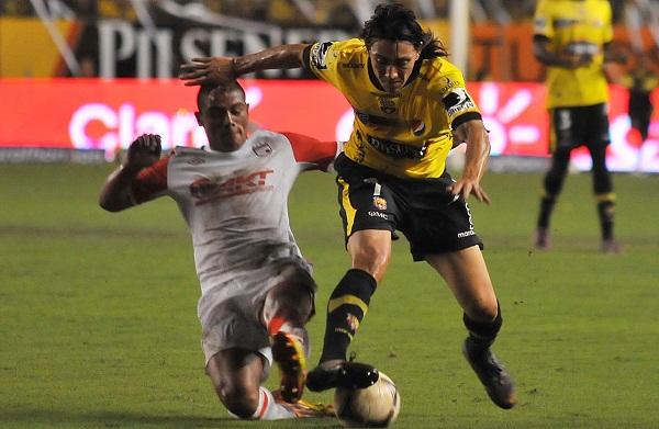 Pablo Luguercio fue un buen generador de fútbol y estuvo cerca de anotar.