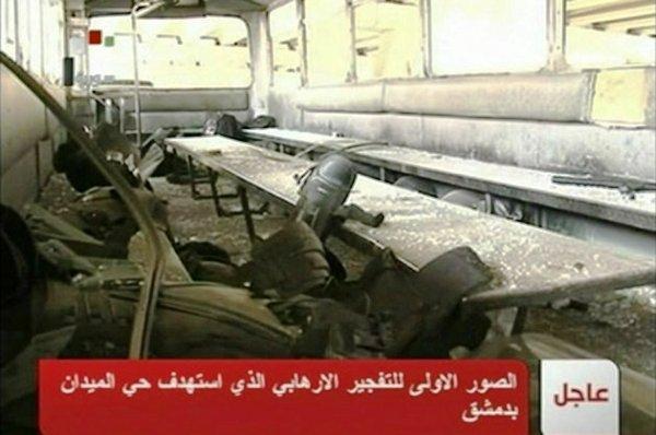 bus SYRIA