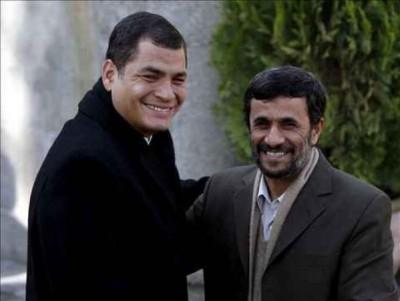 Correa, en visita oficial a Irán, con