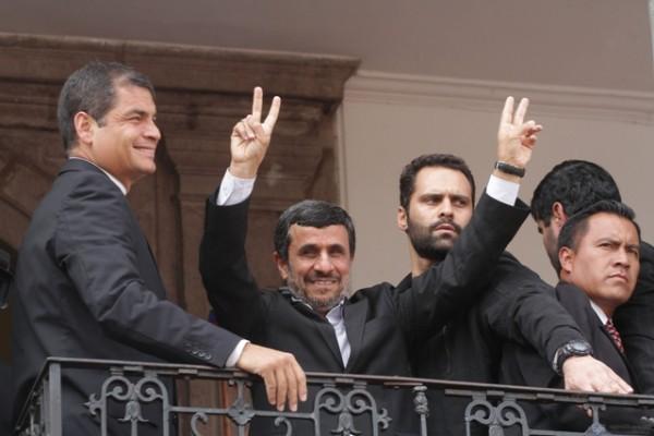 VISITA DEL PRESIDENTE IRANI MAHMUD AHMADINEYAD VISITA ECUADOR
