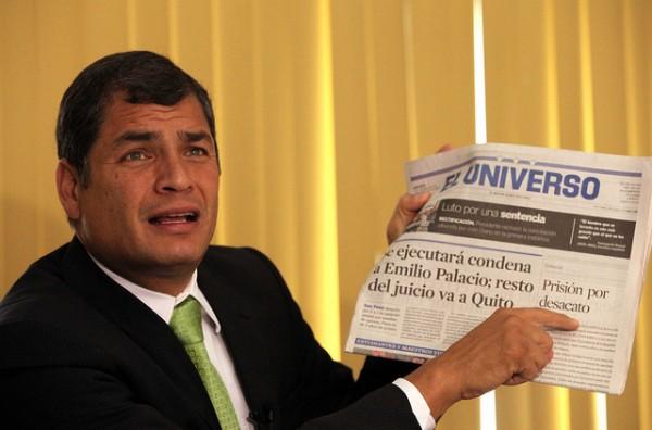 DECLARACIONES EN TORNO A PUBLICACIÓN DE DIARIO EL UNIVERSO