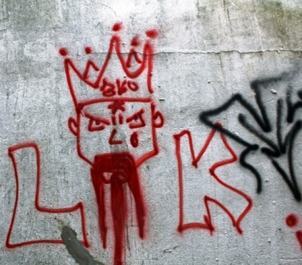 latin kings grafiti
