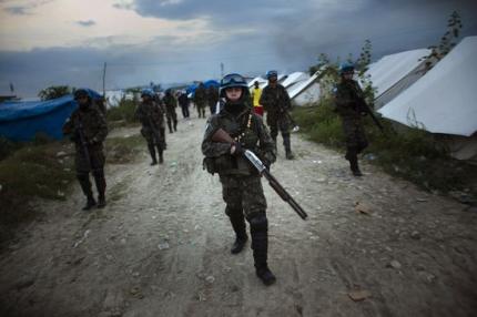 La devastada Haití.