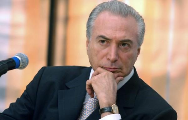 Michel Temer, el nuevo presidente de Brasil. Foto de Archivo: La República.