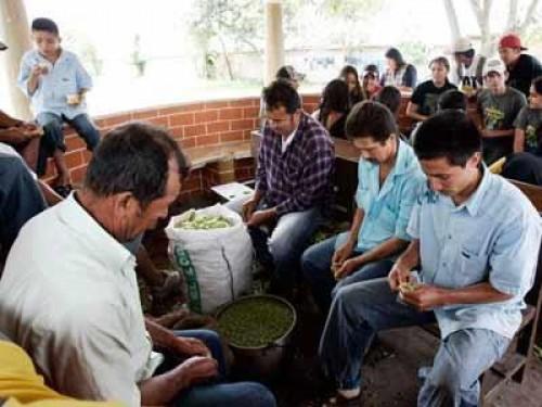 Refugiados provenientes de Colombia. Foto de Archivo, La República.