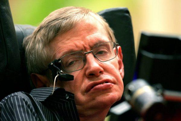 Stephen Hawking, científico británico. Foto de Archivo.