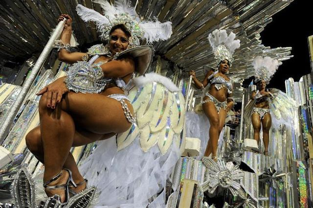Carnaval Brasil. Foto de Archivo, La República.