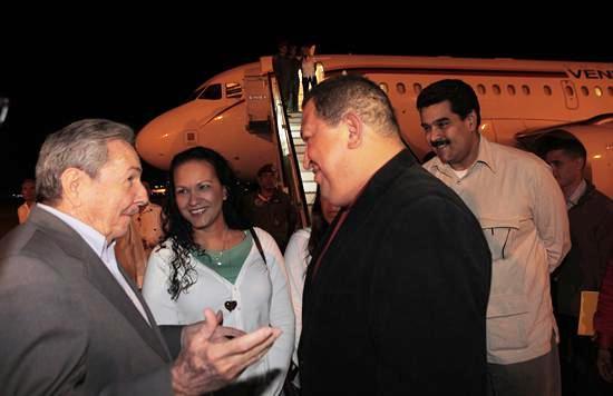 Chavez Cuba operacion
