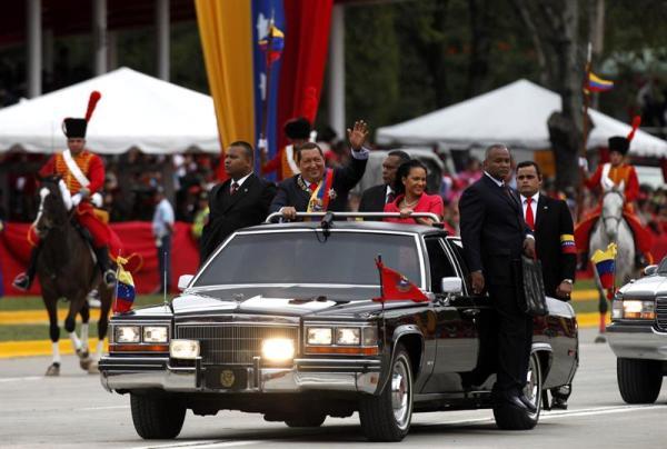 Chavez desfile 4 febrero