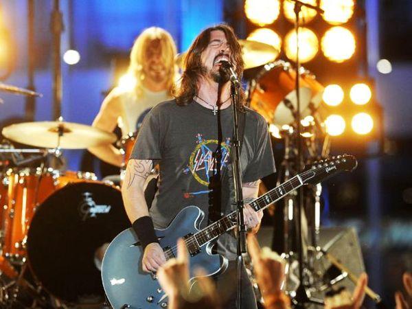 Foo Fighters, músicos. Foto de Archivo, La República.