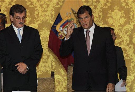 Wilson Pastor, Rafael Correa
