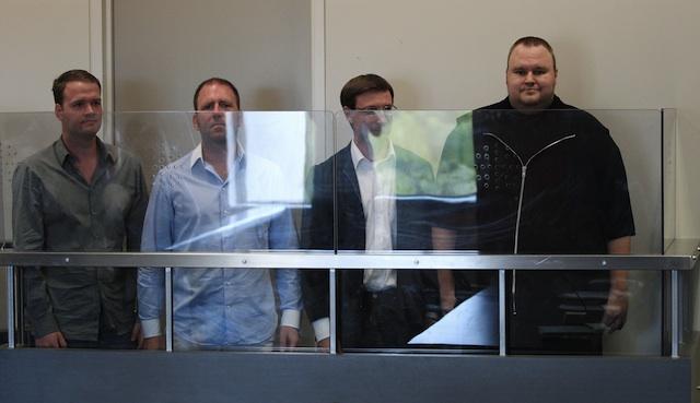 Bram van der Kolk, Finn Batato, Mathias Ortman, Kim Dotcom