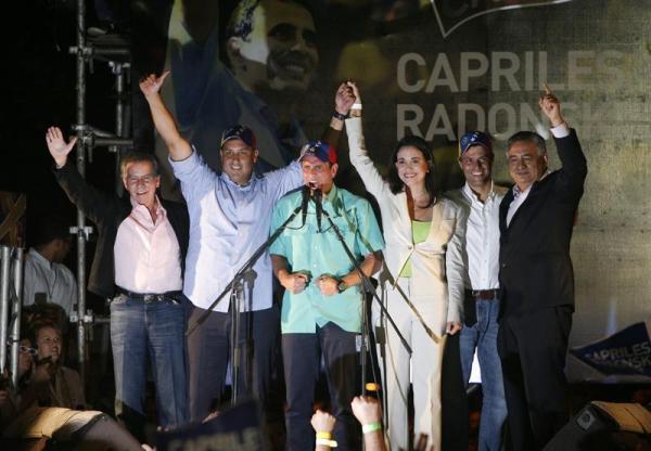 capriles triunfo