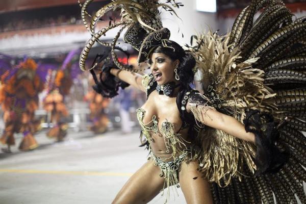Carnaval de Sao Paulo, Brasil. Foto de Archivo, La República.