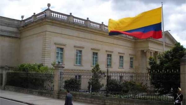Casa de Nariño, sede del poder Ejecutivo colombiano.