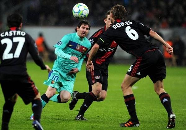 Lionel Messi fue una de las figuras de la victoria y marcó un gol.