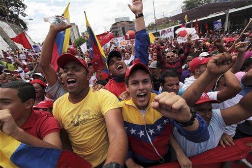 VENEZUELA-CHAVEZ MARCHA
