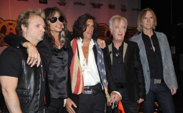 Aerosmith, banda de rock. Foto de Archivo, La República.