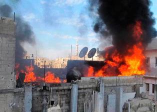 Bombardeos en Homs