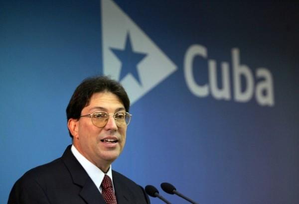 Bruno Rodríguez, canciller de Cuba. Foto de Archivo, La República.