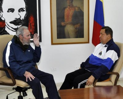 Chávez, convaleciente en La Habana.