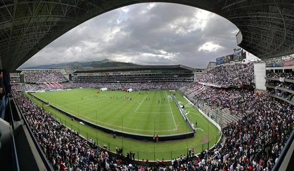 Foto de archivo. Estadio Casa Blanca. Foto API.